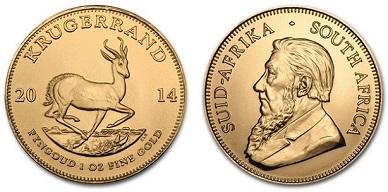 zlaté mince / krugerrand 1oz (celý)