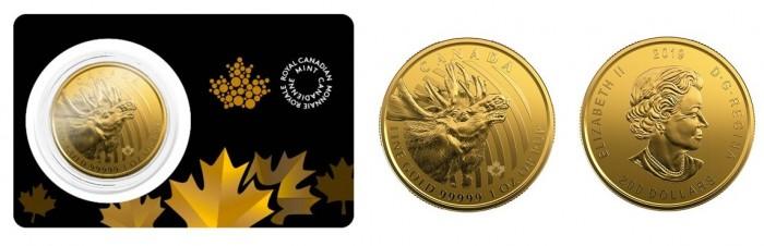 zlaté mince / moose 2019 (celý)