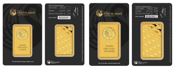 slitky / Perth Mint black (celĂ˝)