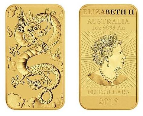 zlaté mince / rectangular dragon gold (celý)