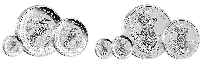 stříbrné mince / silver coin perth I (celý)