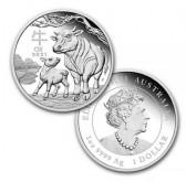 stříbrné mince / Ox 2021 silver (velký)