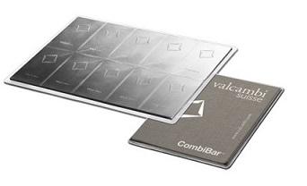 slitky / valcambi combibar 10x10 (celĂ˝)